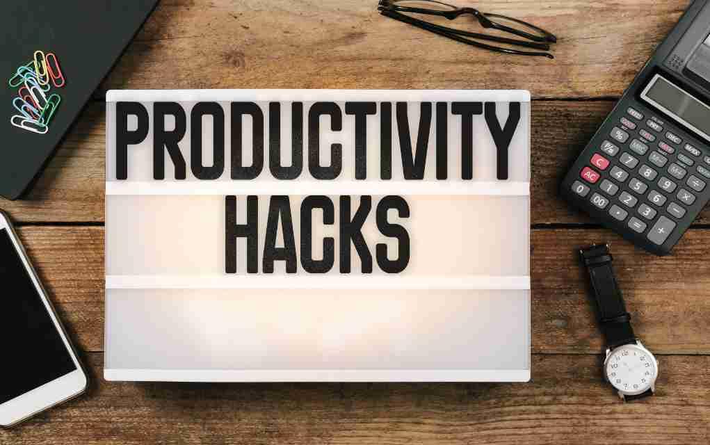 100 productiviteit hacks en tips om je productiviteit te verbeteren