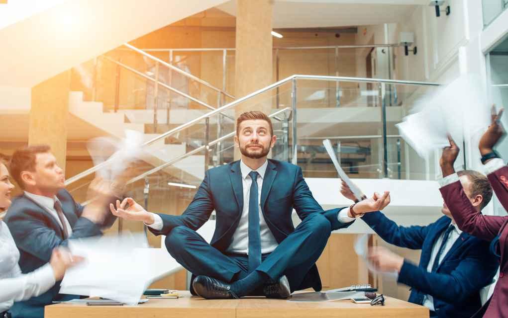 Rust en minder stress door regelmatig te mediteren