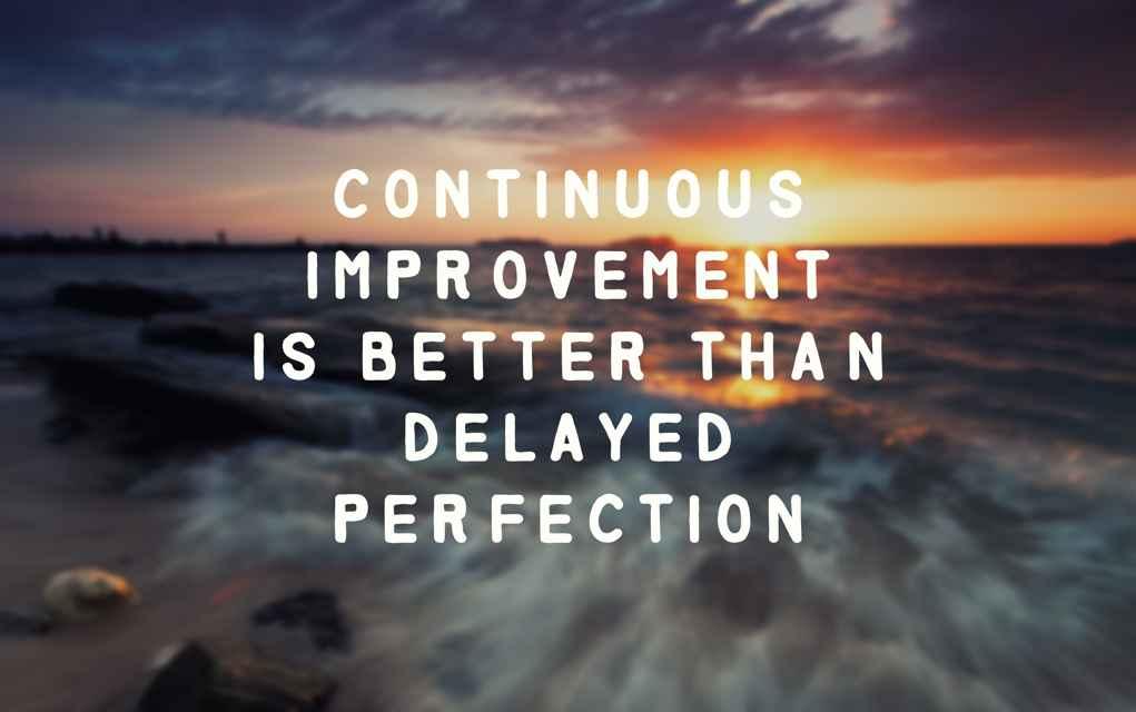 consistent zijn en daardoor sneller je doelen bereiken