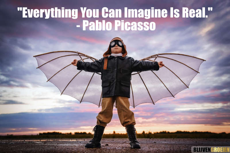Quote Everything you can Imagine Is real - Pablo Picasso