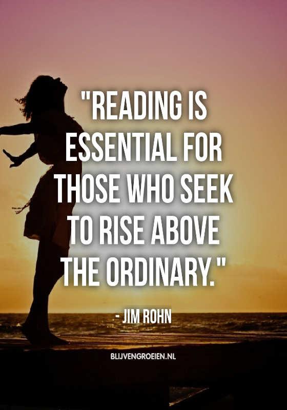Werken aan je persoonlijke ontwikkeling door het lezen van boeken