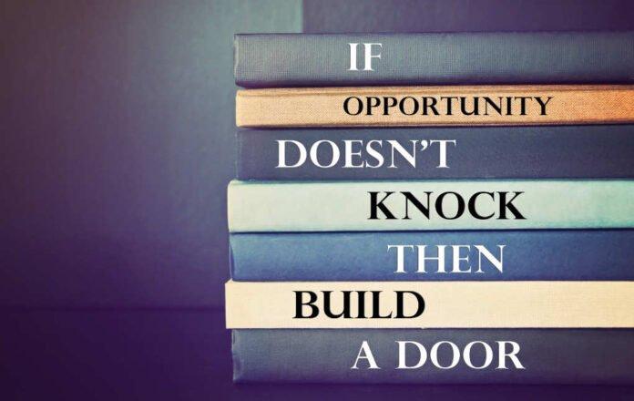 20 Quotes over het belang van de juiste houding en mindset voor succes If opportunity doesnt knock then build a door