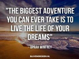 20 Quotes van Oprah Winfrey over Succes Geluk Rijkdom en Groei.