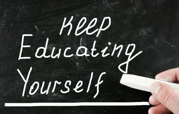 Blijf jezelf ontwikkelen voor meer succes