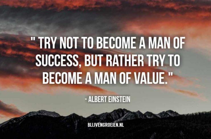 20 Inspirerende en leerzame Quotes van Albert Einstein