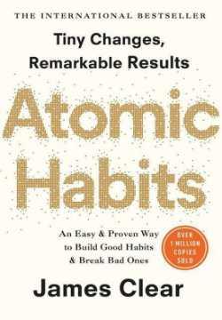 Atomic Habits van James Clear voor persoonlijke groei en het ontwikkelen van nieuwe gewoontes