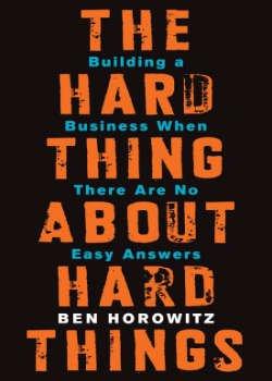 Boek Hard Thing About Hard Things