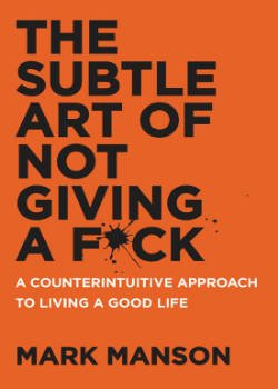 Boek Mark Mansen - The Subtle Art of Not Giving a Fuck persoonlijke groei en mindset