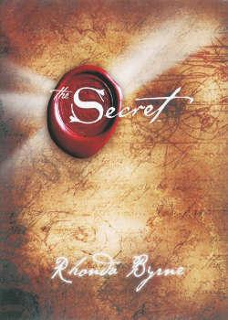 Boek The Secret over aantrekkingskracht en voor je persoonlijke ontwikkeling