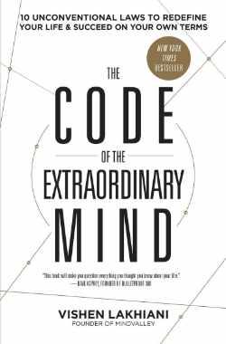 Boek voor persoonlijke groei. The Code of the Extraordinary Mind