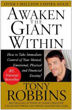 Persoonlijke ontwikkelingsboek Awaken The Giant Within Tony Robbins