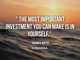 """""""The most important investment you can make is in yourself."""" """"Price is what you pay. Value is what you get."""" """"You only have to do a very few things right in your life so long as you don't do too many things wrong"""" """"I insist on a lot of time being spent, almost every day, to just sit and think. That is very uncommon in American business."""" """"One can best prepare themselves for the economic future by investing in your own education. If you study hard and learn at a young age, you will be in the best circumstances to secure your future."""" """"Do not take yearly results too seriously. Instead, focus on four or five-year averages."""" """"I read and think"""" """"It's better to hang out with people better than you. Pick out associates whose behavior is better than yours and you'll drift in that direction."""" """"The difference between successful people and really successful people is that really successful people say no to almost everything."""" """"Wall Street is the only place that people ride to in a Rolls Royce to get advice from those who take the subway."""" """"Someone's sitting in the shade today because someone planted a tree a long time ago."""" """"Rule No. 1: Never lose money. Rule No. 2: Don't forget rule No. 1"""" """"I just sit in my office and read all day"""" """"The best chance to deploy capital is when things are going down."""" """"Risk comes from not knowing what you're doing"""" """"Buy a stock the way you would buy a house. Understand and like it such that you'd be content to own it in the absence of any market."""" """"Success in investing doesn't correlate with IQ ... what you need is the temperament to control the urges that get other people into trouble in investing."""" """"The one thing I will tell you is the worst investment you can have is cash. Everybody is talking about cash being king and all that sort of thing. Cash is going to become worth less over time. But good businesses are going to become worth more over time."""""""