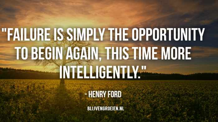 Quote Henry Ford Failure is simply the opportunity to begin again. This time more intelligently. Henry Ford